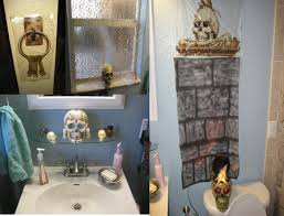 bathroom awesome design interior of pirate bathroom decor with astounding pirate bathroom decor white curtain and charming white tub and frozen glass screen