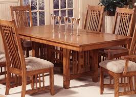 mission style dining room set mission style dining room furniture trestle dining table