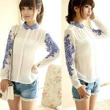 womens tops and blouses fashion chiffon sleeve shirt tops blouse 20
