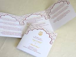Wedding Programs Sample Ganesh Indian Wedding Program Hindu Trifold Folded