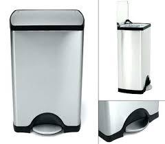 poubelle de cuisine p dale poubelle 50l cuisine cuisine litres p dale deluxe rectangular litres