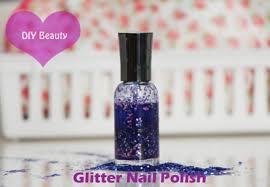 diy beauty glitter nail polish college fashion