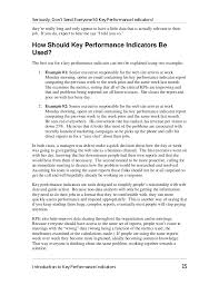 Kpi Reports Sle by The Big Book Of Key Performance Indicators By Eric Peterson