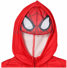 superhero boys full zip hoodie with eye mask marvel disney comics