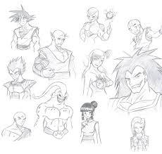 dbz characters style chaosghidorah deviantart