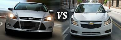 chevy sonic vs ford focus battle of the compact cars cruze vs focus osseo automotive s