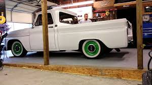 1966 c10 rear air ride video 1 test youtube