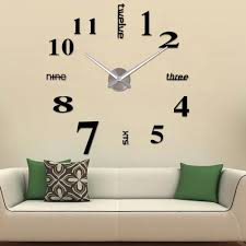 compare prices on number wall clock online shopping buy low price