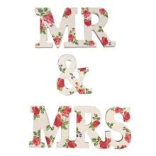 popular mr mrs wooden letters buy cheap mr mrs wooden letters lots