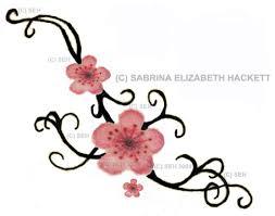 cherry blossoms and children u0027s names tattoo cherry blossom