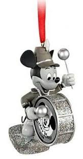 mickey and minnie mouse 1928 ornament set ornaments disney