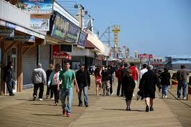 jersey shore kicks off beach season as storm recovery continues