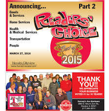 Garden Family Restaurant Decatur Il Readers U0027 Choice 2015 Part 2 By Herald U0026 Review Issuu