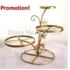 wedding cake holder 3 tier metal frame cake stand ems free ship 5 color iron cake