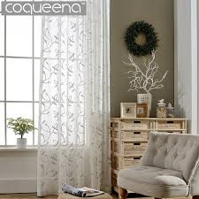 online get cheap embroidered sheer curtains aliexpress com