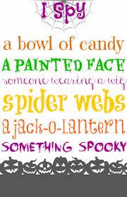 Printable Halloween Game by Halloween Game I Spy Printable Hallowe U0027en Howl Pinterest