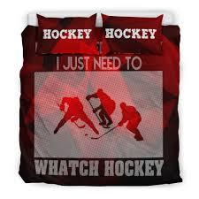 Hockey Bedding Set Hockey Bedding Set 1 Bongroup