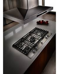 Gas Cooktop Sears Kitchenaid Kcgs556ess 36
