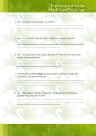 anxiety anxiety worksheets for teens