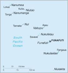 map of tuvalu of tuvalu