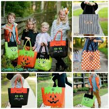 personalized halloween trick or treat bag character bag 17 50