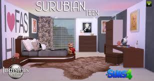 Tween Bedroom Sets by Teen Bedroom Sims 4