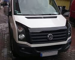 volkswagen crafter back vw crafter hood bonnet deflectors crafter tuning parts