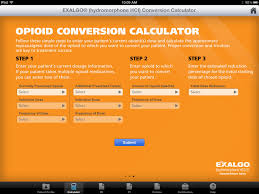 opioid dose conversion calculator apps 148apps
