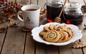 wallpaper cookies pastries food table hd picture image