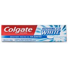 toothpaste whitening colgate advanced whitening toothpaste toiletries 1 09