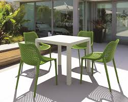 White Patio Dining Sets by Patio Interesting Resin Patio Furniture Clearance White