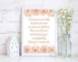 wedding quotes cousin cousin quotes etsy