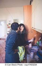 amour dans la cuisine automne cuisine amour photos de stock rechercher des