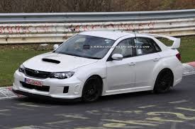 subaru wagon 2010 spied subaru wrx sti spec c spotted testing on the nürburgring