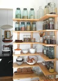 cuisine avec etagere les bocaux en verre sont un vrai hit pour la cuisine mais comment