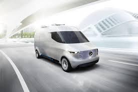 new mazda van mercedes benz unveils new electric vision van