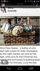 Winebaskets Wine Baskets Decorating Ideas Pinterest Wine Baskets