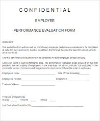 evaluation forms templates free u0026 premium creative template