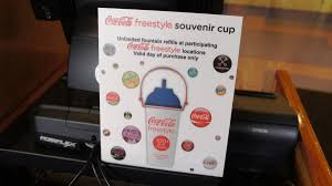 Coke Can Six Flags Refillable Cups Popcorn Buckets And Coke Freestyle At Universal