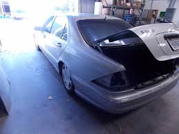 bagged mercedes s class 2001 mercedes benz s class w220 s500 drivers wheel air bag black