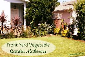 front yard vegetable garden makeover part one cheeseslave