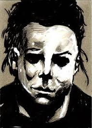 my tribute to the amazing horror movie icon michael myers from