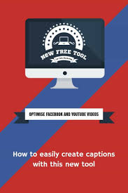 youtube and facebook srt video captions made easy with this tool