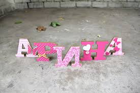 amazon com standing wooden letters home decor wedding baby
