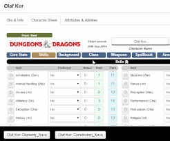 character sheets roll20 wiki