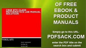 cbse 8th class mathematics lab manual solution video dailymotion