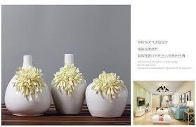 ceramic yellow daisy flowers vase home decor large floor vases for