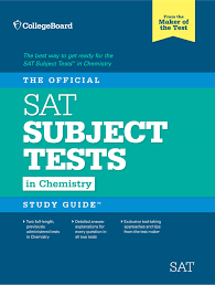 the official sat subject test in chemistry study guide by the