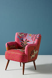 fuschia chair accent chairs lounge chairs arm chairs anthropologie