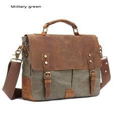 functional laptop briefcase satchels shoulder handbags vintage